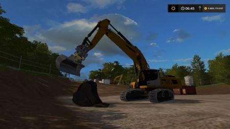 BUCKET FOR VOLVO EC300E ATTACHER V1.0