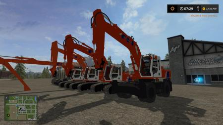 FS17 HITACHI FH200 PACK V1.0