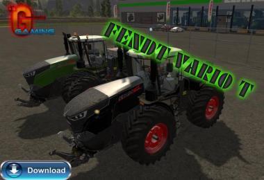 FENDT VARIO T FL PACK BLACK / GREEN V4.0