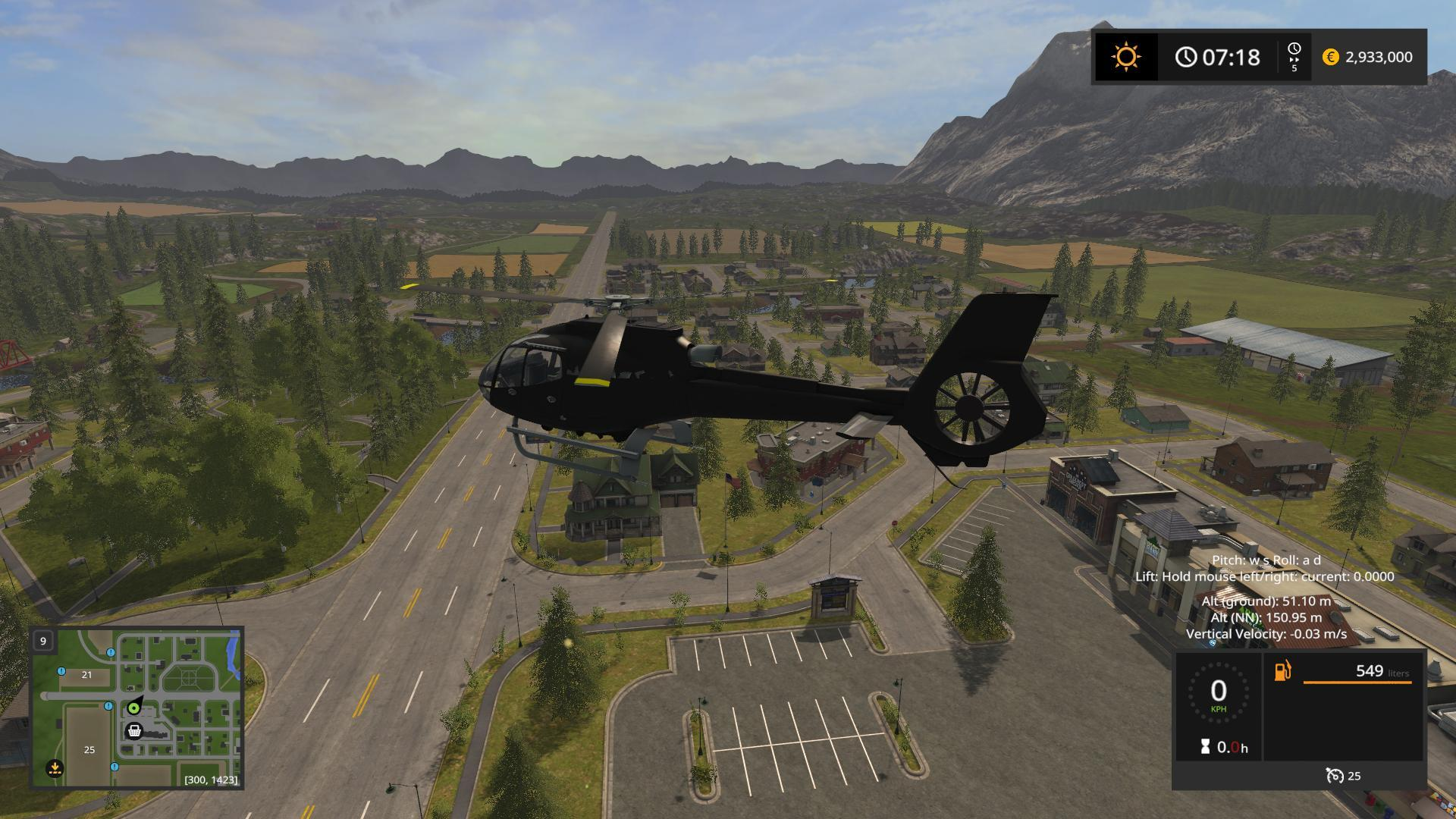 Helicopter » GamesMods net - FS19, FS17, ETS 2 mods