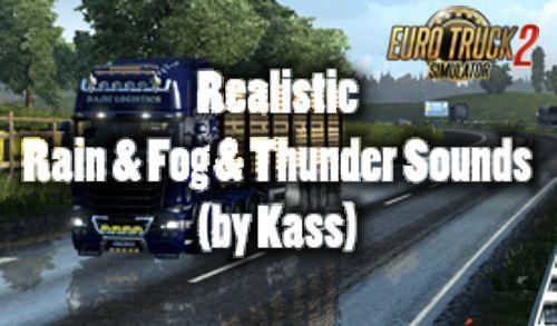 REALISTIC RAIN & FOG & THUNDER SOUNDS V3 7 » GamesMods net