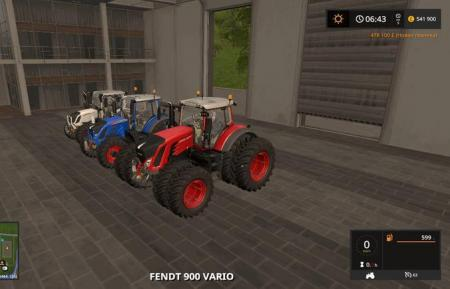 FENDT PACK BY RT MODS