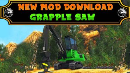 FDR LOGGING – GRAPPLE SAW LOADER V1.0