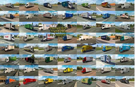 PAINTED BDF TRAFFIC PACK BY JAZZYCAT V3.7