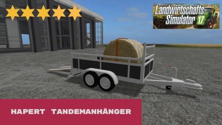 HAPERT TANDEM TRAILER V1.1