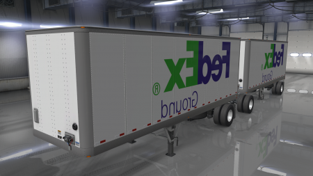 FEDEX TRAILER SKIN PACK 1.32