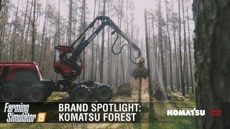 FARMING SIMULATOR 19 BRAND SPOTLIGHT | KOMATSU FOREST V1.0