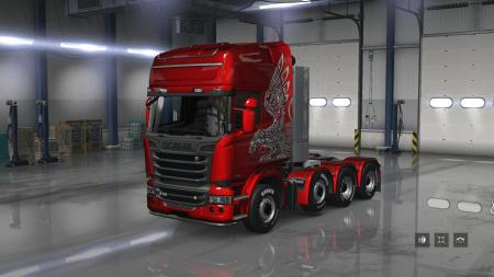 SCANIA TRUCKS FOR ATS V1.8 1.32.X