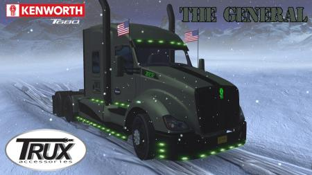 KENWORTH T680 THE GENERAL V1.3 [19.09.18] 1.32.X
