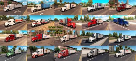 PAINTED TRUCK TRAFFIC PACK BY JAZZYCAT V1.4.1