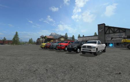 DODGE RAM 3500 CUSTOMIZABLE V1.5