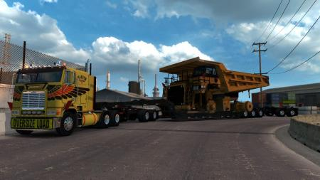 CATERPILLAR 785C MINING TRUCK FOR HEAVY CARGO PACK DLC V1.3.0