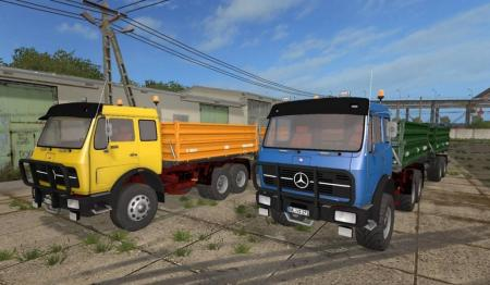 Mercedes-Benz NG 1632 Tipper Pack