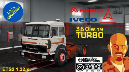 MAGIRUS DEUTZ 360M FIXED, EDITED & UPGRADED 1.32.X