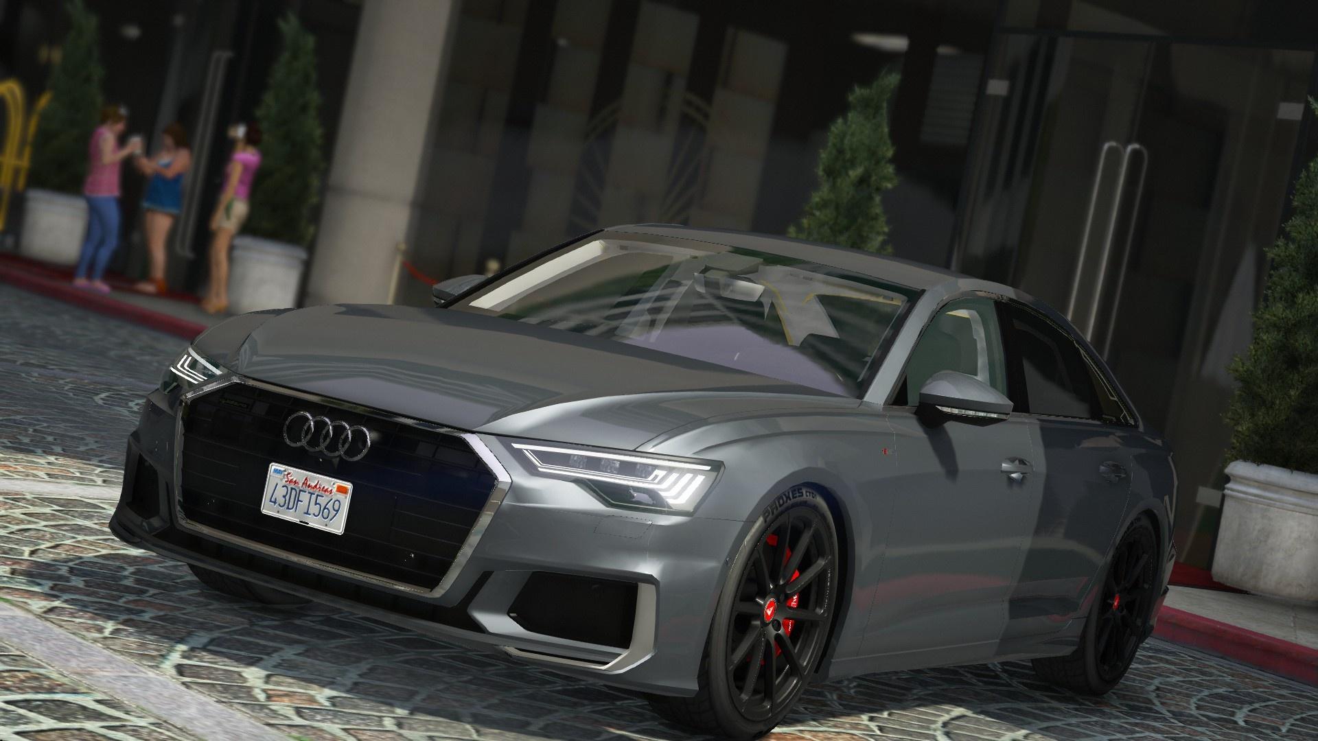 2019 Audi A6 55 Tfsi Quattro S Line 10 Gamesmodsnet Fs19 Fs17