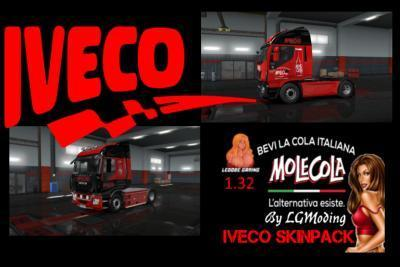 MOLE COLA IVECO SKIN PACK 1.32.X