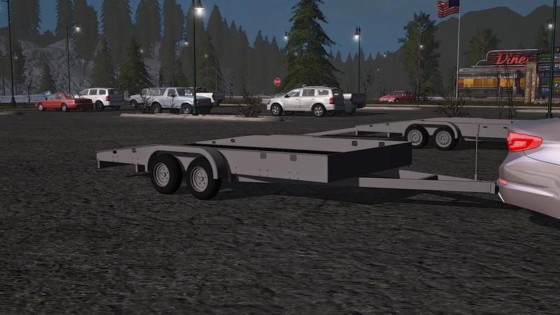 Car Trailer Fs19