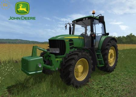 JOHN DEERE 7030 E PREMIUM SERIES + WEIGHT V2.0.1.5