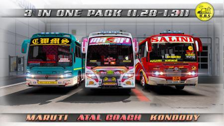 THREE BUS MODS IN ONE PACK 1.28, 1.30, 1.31.X
