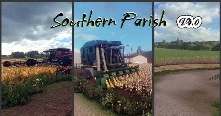 Southern Parish Map v 4.0