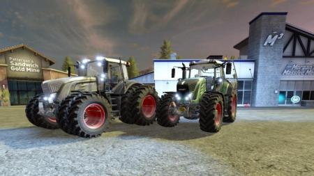 FENDT 900 VARIO AND BLACK BEAUTY V2.0
