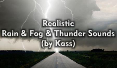 [ATS] REALISTIC RAIN & FOG & THUNDER SOUNDS V1.1