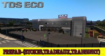 PREFAB–STOKES, TRADEAUX, TRANSINET (NEW LOAD UNLOADING PLACE CREATED) V1.0