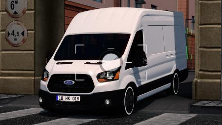 ETS 2 FORD TRANSIT 1.32.X FIXED