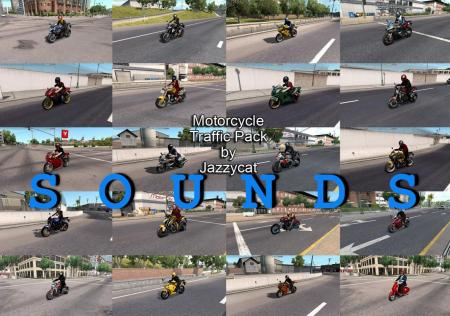 SOUNDS FOR MOTORCYCLE TRAFFIC PACK BY JAZZYCAT V1.5