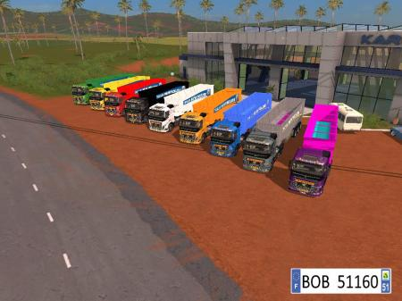 9 TRAILERS NEW HOLLAND COLORS V1.5.0.0