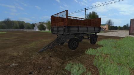2 PTS 4 Silage Trailer