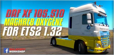 SKIN MAGHRIB OX FOR ETS2 1.32.X