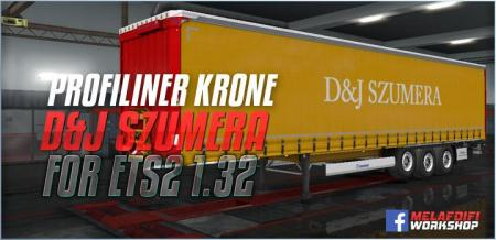 TRAILER D&J SZUMERA FOR ETS2 1.32