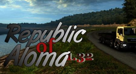 Map Republic of Aloma