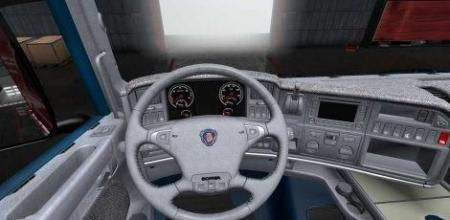 GRAY INTERIOR FOR SCANIA RS FROM RJL V1.0