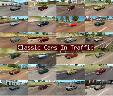 CLASSIC CARS TRAFFIC PACK BY TRAFFICMANIAC V1.8