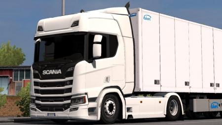 LOW CHASSIS FOR SCANIA R&S 2016 1.32.X