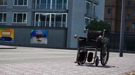 DRIVABLE WHEELCHAIR V1.0