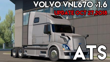 VOLVO VNL670 V1.6 BY ARADETH FOR ATS (OFFICIAL UPDATE)