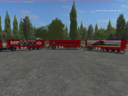PACK 3 TRAILERS MASSEY FERGUSON BY BOB51160 V1.0