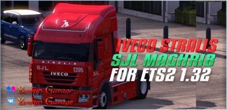 SKIN S.J.L TRANSPORT FOR ETS2 1.32.X