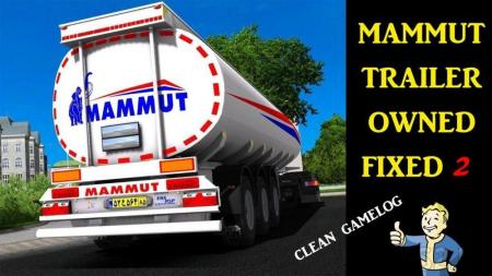MAMMUT TANKER TRAILER OWNED FIXED 2 1.32.X
