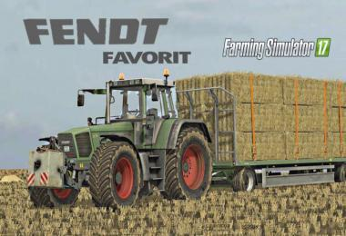 FENDT FAVORITE SERIES 816-824 V3.0