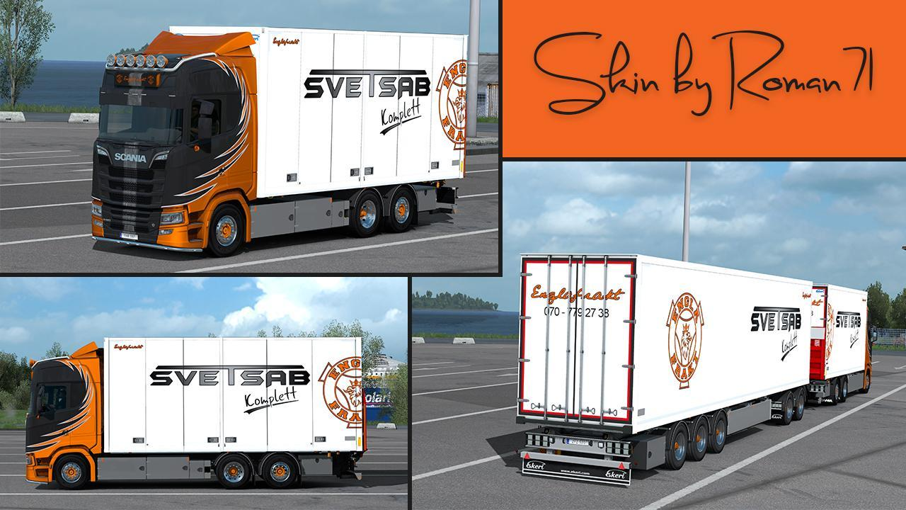 Scania Ng S Englafrakt Skin 1 32 X 187 Gamesmods Net Fs19