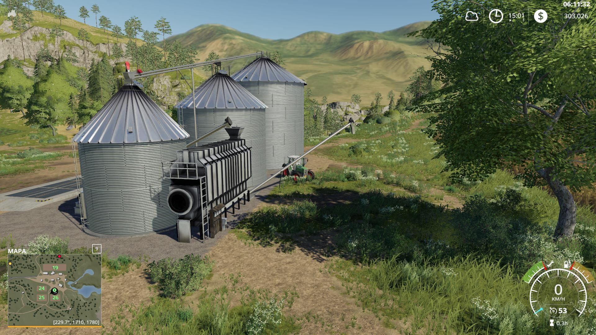 LARGE GRAIN SILO V1 0 1 0 » GamesMods net - FS19, FS17, ETS
