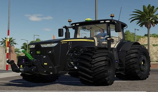 JOHN DEERE 8R BLACK BY ALEX BLUE V1.0.0.3