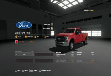 2017 FORD F250 FIXED V2.0