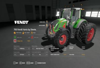 FENDT VARIO 700 SMALL UPDATE BY STEVIE