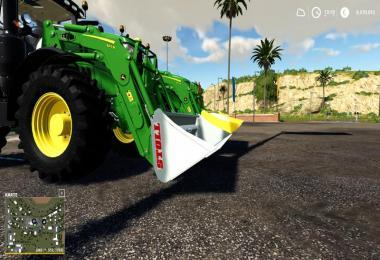 STOLL XL FRONT LOADER SHOVEL 5000L V1.1