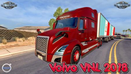 VOLVO VNL 2018 + INTERIOR V1.15 EDIT BY GALIMIM